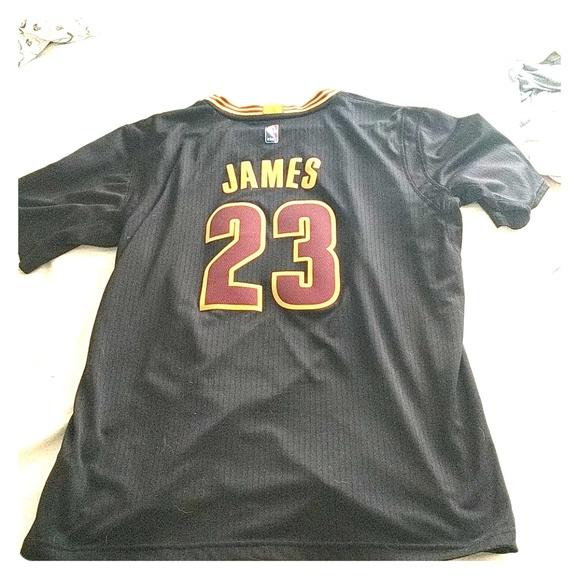 buy popular cc963 0a159 Lebron James Black Championship Jersey